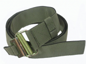 ROLL PIN BELT - LIGHT OLIVE